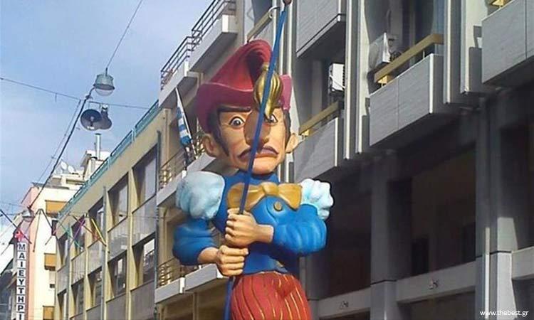 Εμπρηστικές επιθέσεις με στόχο καρναβαλικές κατασκευές στο κέντρο της Πάτρας
