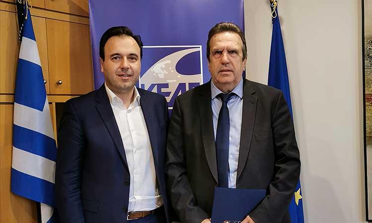 ΚΕΔΕ και ΕΣΕΕ ενισχύουν τη συνεργασία τους προε όφελος του επιχειρείν