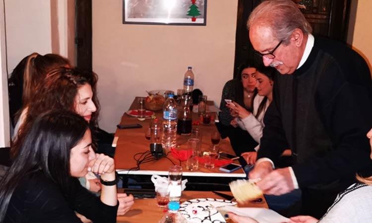 Ετήσια συνεστίαση και κοπή πρωτοχρονιάτικης πίτας του ΓΣΑΠ στις 25 Ιανουαρίου