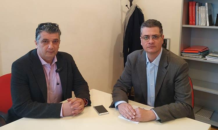 Συνάντηση δημάρχου Βριλησσίων – προέδρου Πράσινου Ταμείου για τα προγράμματα αστικής ανάπτυξης