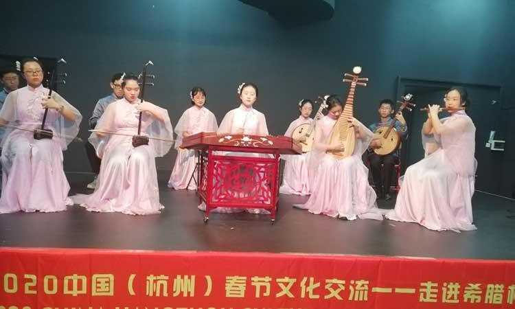 Μαθητές και εκπαιδευτικοί από την Κίνα στο 1ο Λύκειο Παπάγου
