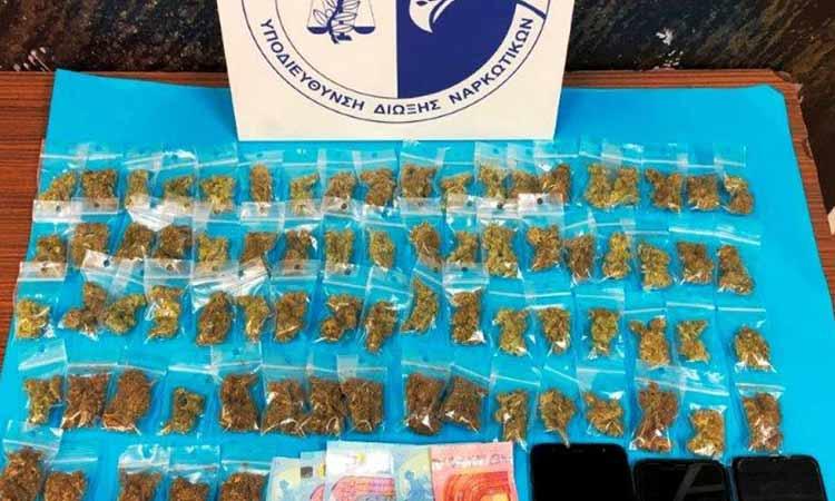 «Σκούπα» της Δίωξης Ναρκωτικών στα Εξάρχεια – Τέσσερις συλλήψεις