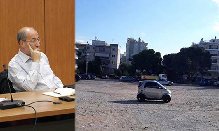 Μ. Πάγκαλος: «Όχι» στην κατασκευή υπόγειου χώρου στάθμευσης στην πλατεία Πέρου