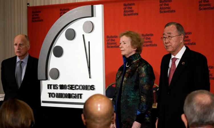 Ακόμα πιο κοντά στο τέλος – 100 δευτερόλεπτα από τον όλεθρο το «ρολόι της Αποκάλυψης»