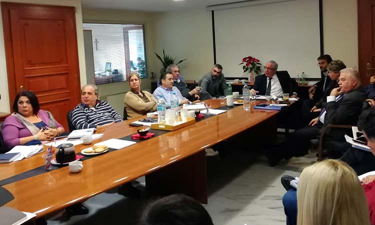 Σύσκεψη Δήμου Αμαρουσίου για το Επιχειρησιακό Πρόγραμμα 2019-2023