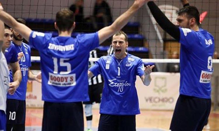Volley League: Νίκη της Κηφισιάς επί της Ελπίδας Αμπελοκήπων στη 13η αγωνιστική