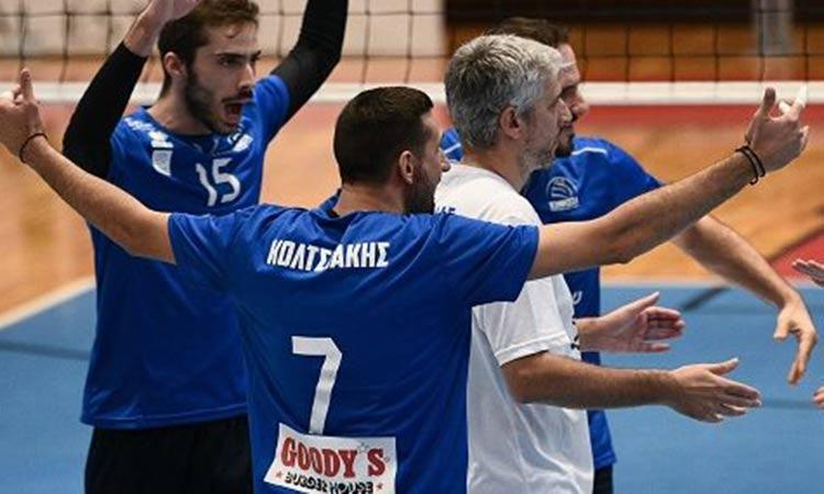 Volley League: Εύκολο απόγευμα του ΑΟΠ Κηφισιάς στην Αλεξανδρούπολη