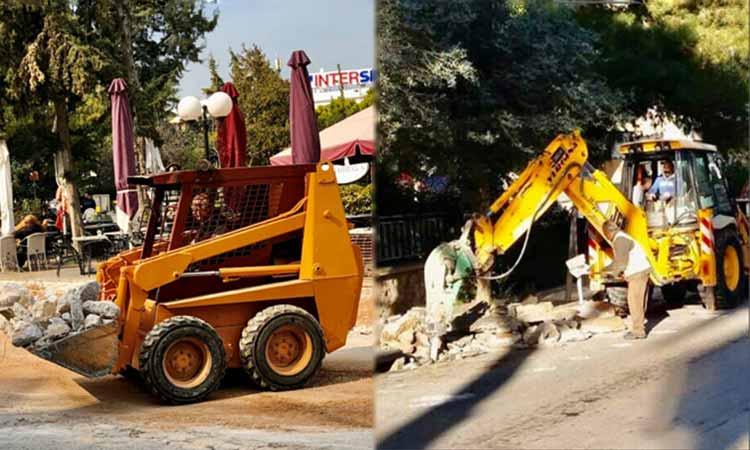 Γ. Σταθόπουλος: Ξεκίνησαν δύο σημαντικά έργα μας στον Δήμο Αγ. Παρασκευής