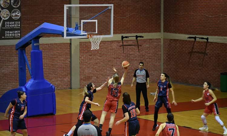 Α2 μπάσκετ Γυναικών: Έχασε ο Γ.Σ. Αγ. Παρασκευής από τον Πρωτέα Βούλας για τη 16η αγωνιστική