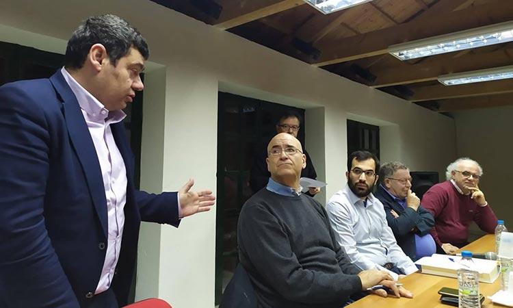 Στην εκδήλωση της Δημοτικής Βιβλιοθήκης για τον «Φάκελο της Κύπρου» ο δήμαρχος Τ. Μαυρίδης