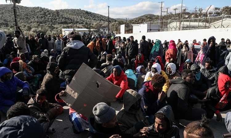 Συγκέντρωση ειδών για τους μετανάστες της Μόριας από την Ο.Μ. ΣΥΡΙΖΑ Λυκόβρυσης-Πεύκης