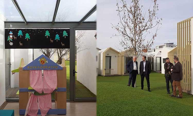 Επίσκεψη σε παιδικό σταθμό του Δήμου Γλυφάδας έκανε ο δήμαρχος Αγ. Παρασκευής