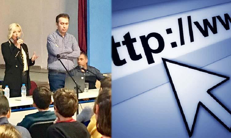 Μ. Πατούλη-Σταυράκη για Διαδίκτυο: Είναι το σύγχρονο «διαβατήριο» για τη γνώση, την πληροφόρηση, την επικοινωνία