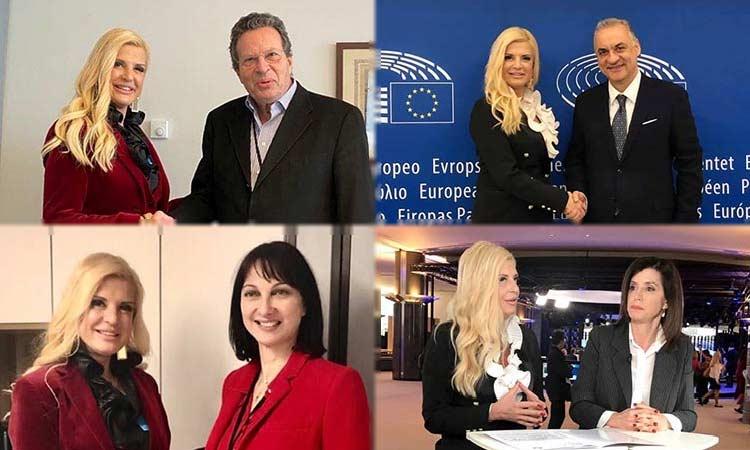 Επαφές Μ. Πατούλη με Έλληνες ευρωβουλευτές για το «Τέχνης Χρω»