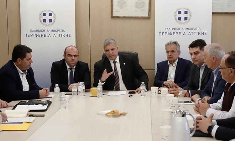 Υψηλές «ταχύτητες» από τις υπηρεσίες Μεταφορών της Περιφέρειας Αττικής ζήτησε ο Γ. Πατούλης