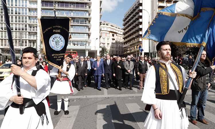 Στην 106η επέτειο ανακήρυξης της Αυτονόμου Πολιτείας Βορείου Ηπείρου ο περιφερειάρχης Αττικής