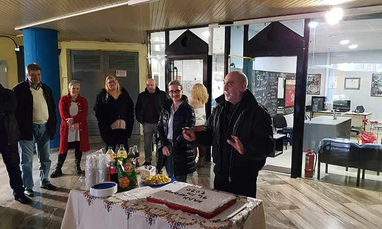 Ο «Επικοινωνία 94FM» έκοψε την πρωτοχρονιάτικη πίτα του
