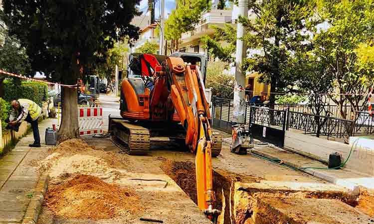 Νέο αντιπλημμυρικό έργο ομβρίων στον Δήμο Αγίας Παρασκευής