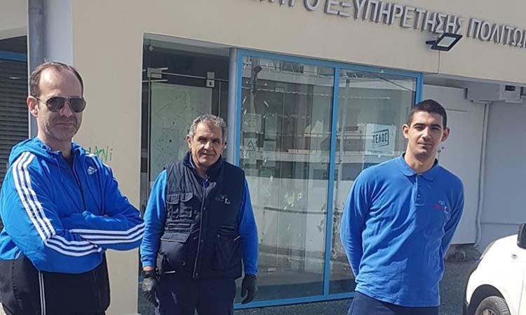Καθημερινή απολύμανση στα ανοικτά Δημοτικά Καταστήματα Δήμου Πεντέλης