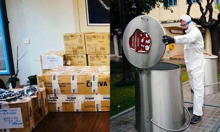 Είδη ατομικής προστασίας προμηθεύτηκε ο Δήμος Φιλοθέης – Ψυχικού