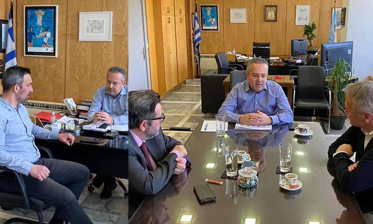 Σε κλίμα ενότητας οι συναντήσεις του δημάρχου Παπάγου – Χολαργού με επικεφαλής παρατάξεων