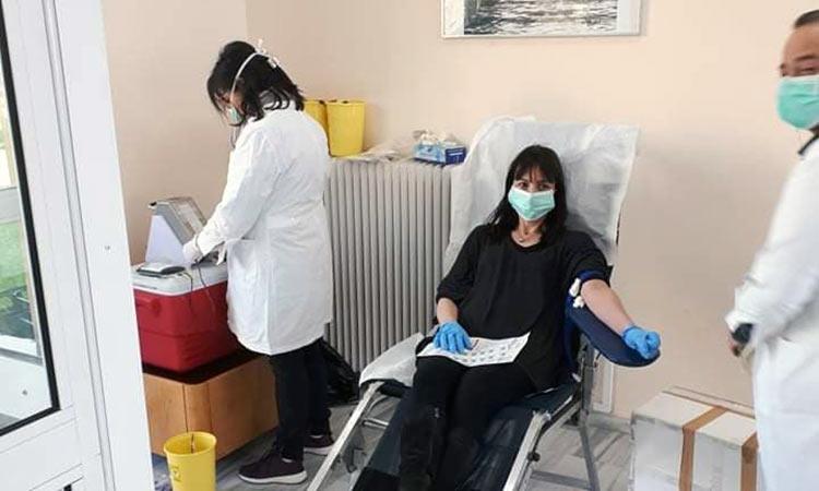Δεν πρόλαβαν να δώσουν αίμα στον Δήμο Πεντέλης λόγω της μεγάλης προσέλευσης