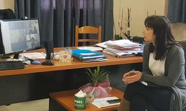 Τηλεδιάσκεψη δημάρχου και επικεφαλής παρατάξεων του Δήμου Πεντέλης για τον «Covid-19»