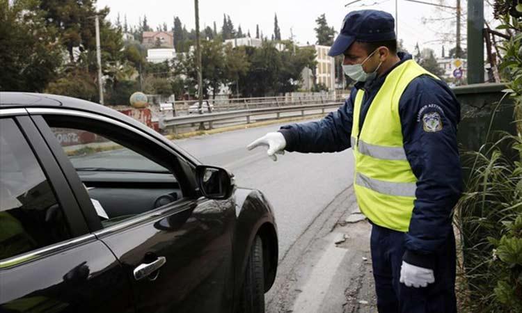 Η ΕΛ.ΑΣ. κατέγραψε 497 παραβάσεις μέτρων ασφαλείας την Κυριακή