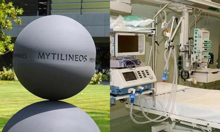 Δωρεά 65 ειδικών αναπνευστήρων για τις ΜΕΘ της χώρας από τη «Μυτιληναίος»