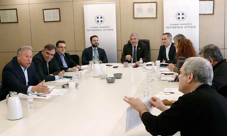 Συνάντηση Γ. Πατούλη με περιφερειακές παρατάξεις για να μπουν κανόνες στο Περιφερειακό Συμβούλιο