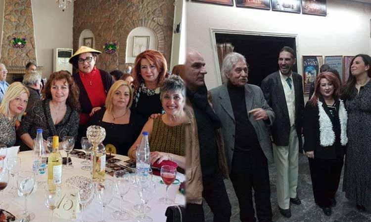 Στον χορό του Συλλόγου Σμυρναίων Ν. Ιωνίας και στην παράσταση «Το μπάχαλο» η δήμαρχος Δ. Θωμαΐδου