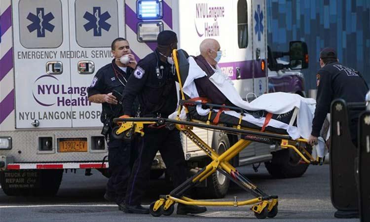 1.169 θάνατοι στις ΗΠΑ μέσα σε 24 ώρες από τον «Covid-19»