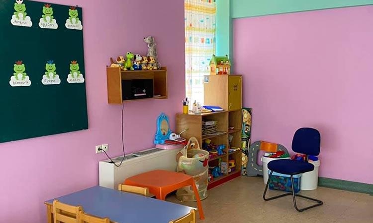 Με πλήρη ετοιμότητα θα επαναλειτουργήσουν οι παιδικοί σταθμοί στον Δήμο Παπάγου-Χολαργού