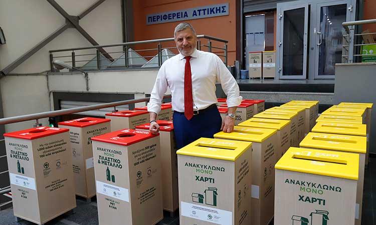 Η Περιφέρεια Αττικής απαντά στον Γ. Σγουρό για τον «χαμένο χρόνο» στη διαχείριση των απορριμμάτων