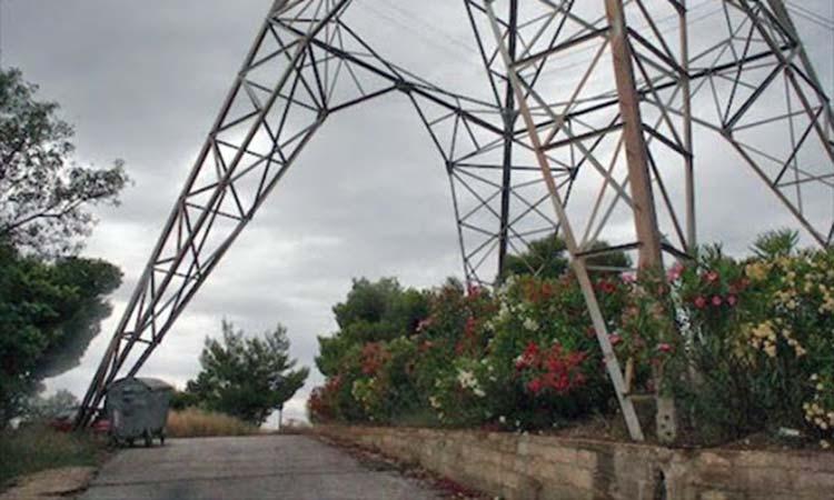 Εγκρίθηκε η πλήρης χρηματοδότηση της μεταφοράς πυλώνων υψηλής τάσης της ΔΕΗ από τη Ν. Πεντέλη