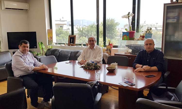 Ποια 4 κοινά θέματα που αφορούν τις περιοχές τους συζήτησαν οι δήμαρχοι Αμαρουσίου, Ηρακλείου και Λυκόβρυσης – Πεύκης