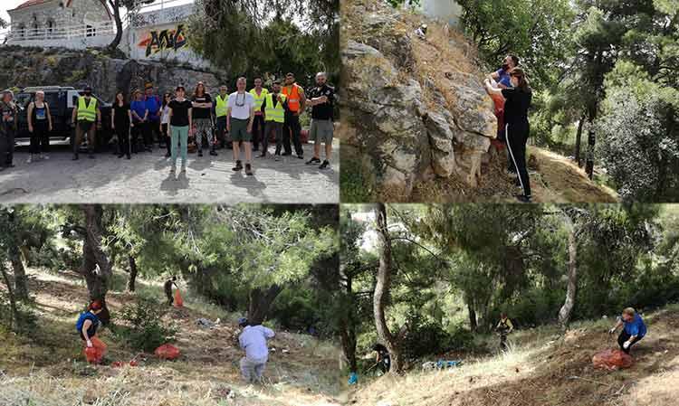 Ο λόφος του Προφήτη Ηλία… ομόρφυνε κι άλλο μετά τη 2η Εθελοντική Δράση του Δήμου Πεντέλης