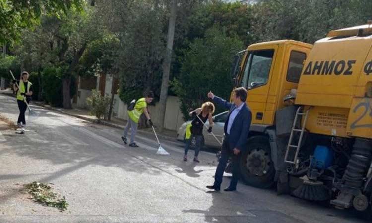 Δ. Γαλάνης: Ενισχύουμε την υπηρεσία Καθαριότητας του Δήμου Φιλοθέης – Ψυχικού