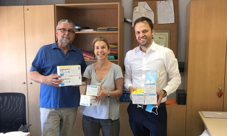 Δωρεά 500 μασκών στον Δήμο Κηφισιάς από ιδιωτική εταιρεία