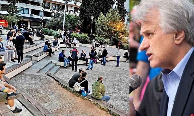 Γ. Σταθόπουλος προς Β. Ζορμπά για πλατεία Άη Γιάννη: «Κρείττον του λαλείν το σιγάν»