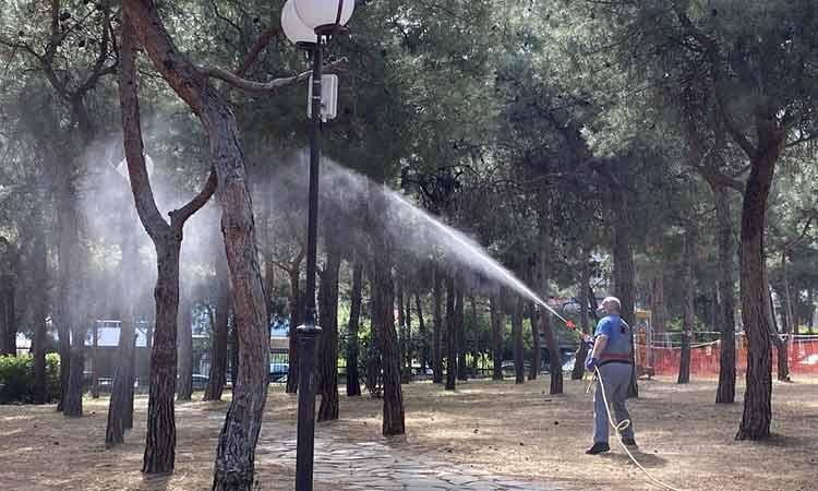 Ψεκασμοί για την καταπολέμηση κουνουπιών στον Δήμο Παπάγου – Χολαργού