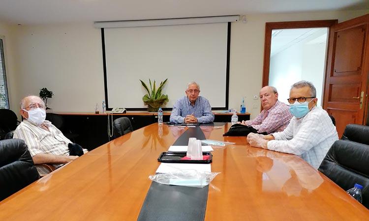 Συνάντηση δημάρχου Αμαρουσίου με το Σωματείο Συνταξιούχων ΙΚΑ Αμαρουσίου & όμορων Δήμων