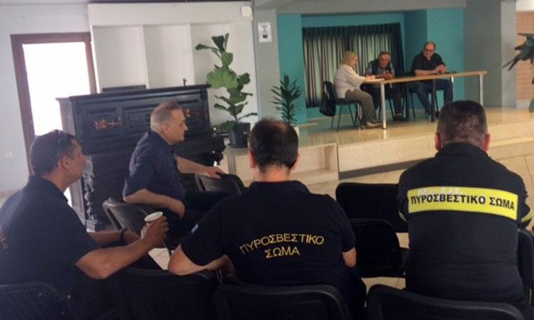 Η προστασία από κινδύνους πυρκαγιάς απασχόλησε το ΣΤΟ Δήμου Χαλανδρίου