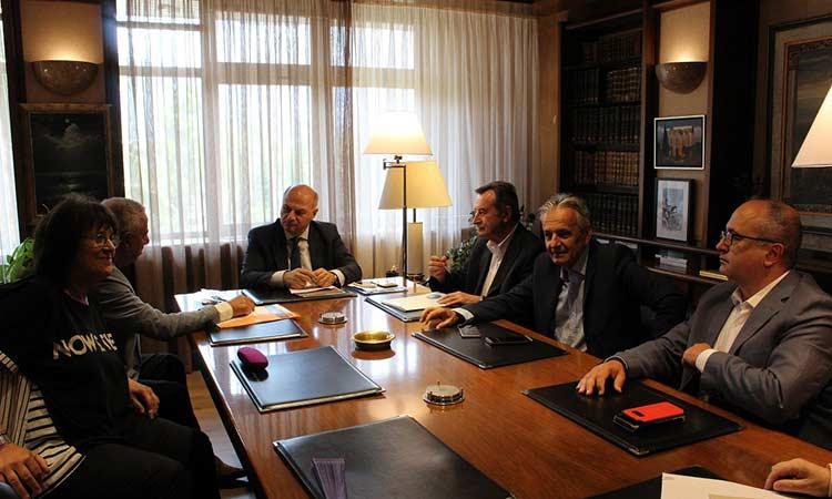 Υπόμνημα με τις θεσμικές προτάσεις αρμοδιότητας του υπουργείου Δικαιοσύνης κατέθεσε η Ένωση Δημάρχων Αττικής