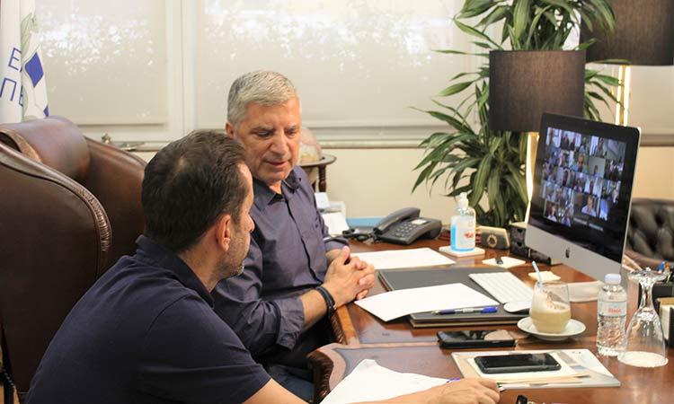Γ. Πατούλης: Είμαστε σε επαγρύπνηση για την ορθή τήρηση των μέτρων προστασίας από τον κορωνοϊό