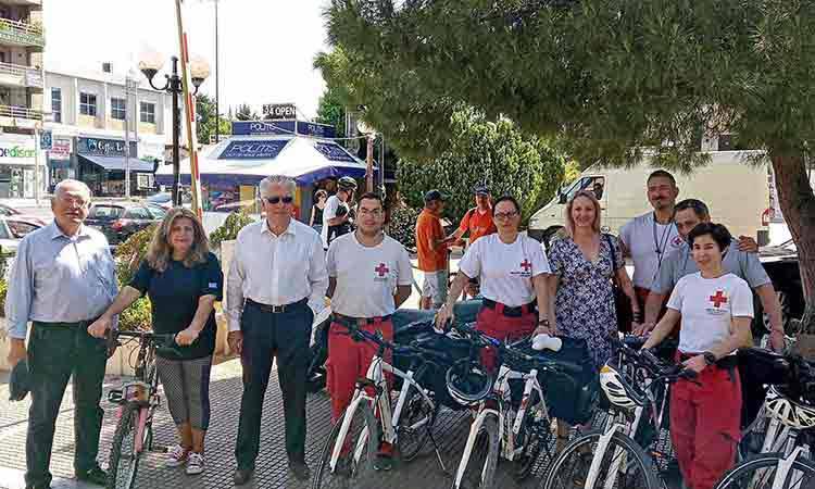 Ποδηλατοβόλτα για την υποστήριξη εναλλακτικών μορφών μετακίνησης στην Αγία Παρασκευή