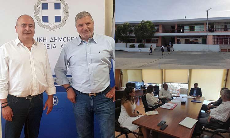 Εγκρίθηκε η χρηματοδότηση για την αποκατάσταση των σεισμόπληκτων σχολείων στο Ηράκλειο