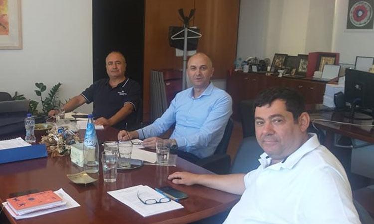 Νέα συνάντηση εργασίας των δημάρχων Ηρακλείου, Λυκόβρυσης – Πεύκης και Μεταμόρφωσης