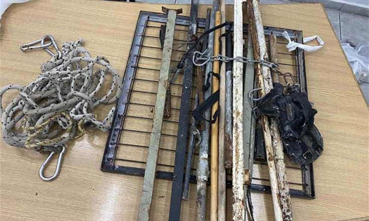 Φυλακές Κορυδαλλού: Σιδερολοστοί, αυτοσχέδια σουβλιά και άλλα ευρήματα σε έρευνα