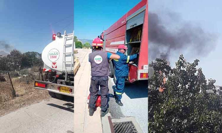 Άμεση επέμβαση ΣΠΑΠ σε πυρκαγιές που ξέσπασαν σε Χαλάνδρι και Πικέρμι